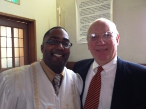 Pastor Davenport and Rev. David Bloom