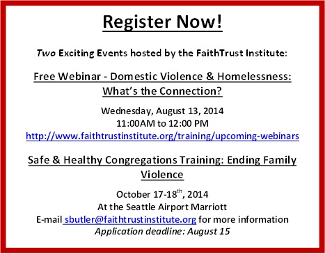 Faith trust institute