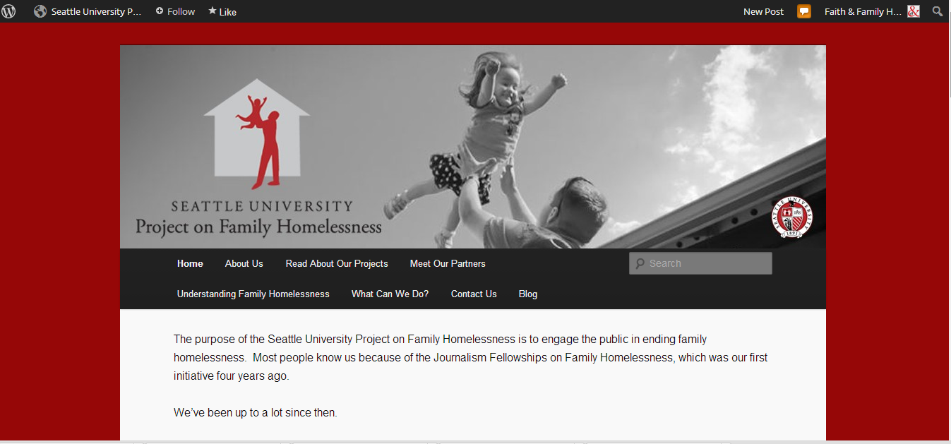 Follow our Partners at the Project on Family Homelessness