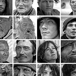 Accompanying Those in the Margins - Faces of the Homeless