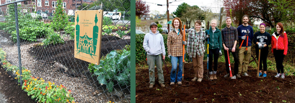 Food with Spirit -Urban agriculture meets service to others with new program launched by SU students and staff
