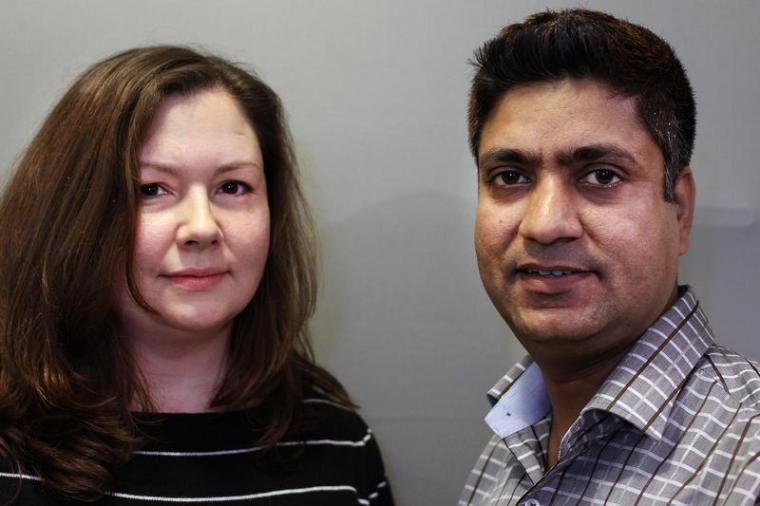 Alena and Raj (StoryCorps)