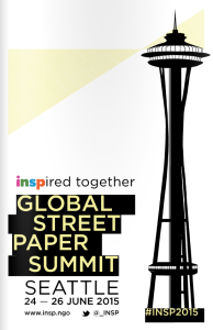 2015 INSP Global Street Paper Summit flyer