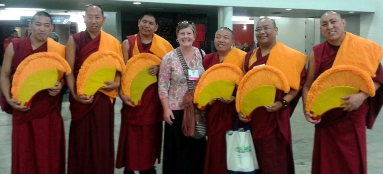 Sandy Windley and Tibetan Buddhist Monks of Drepung Gomang Monastery